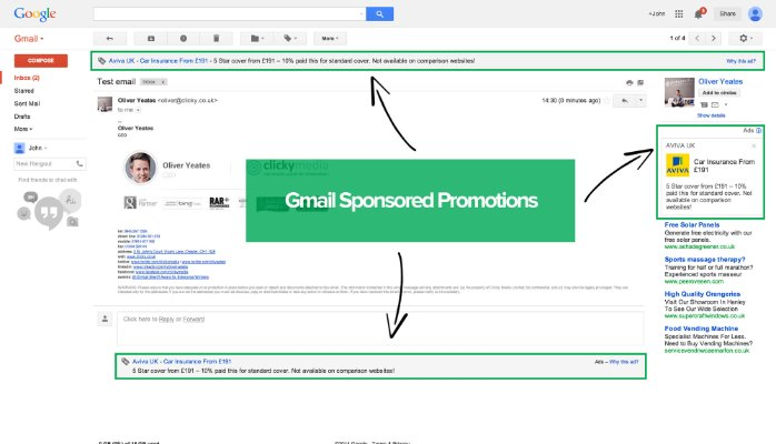 Gmail adverteren