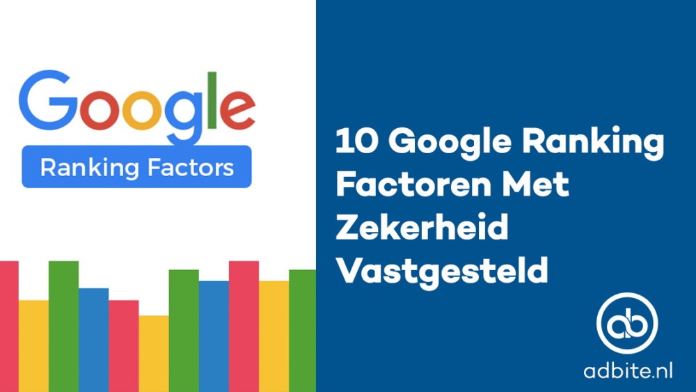 Google-Ranking-Factoren