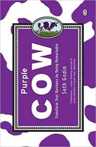 Purple Cow Marketing Boek