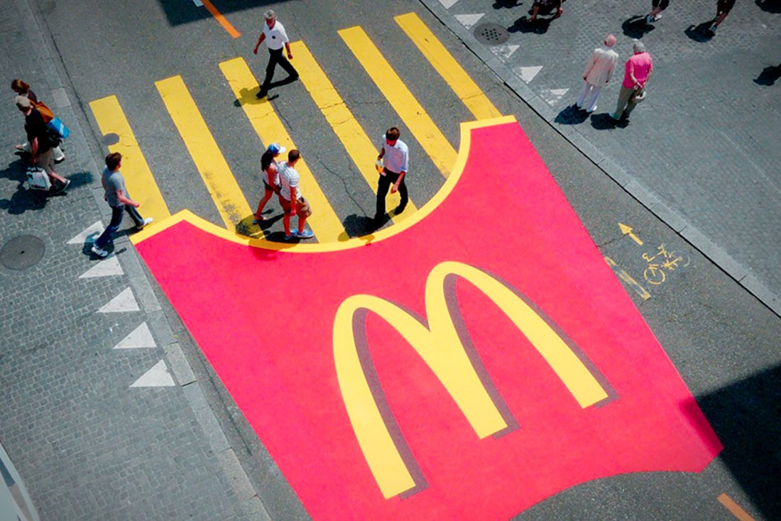 mcdonalds Guerrilla Marketing Voorbeeld